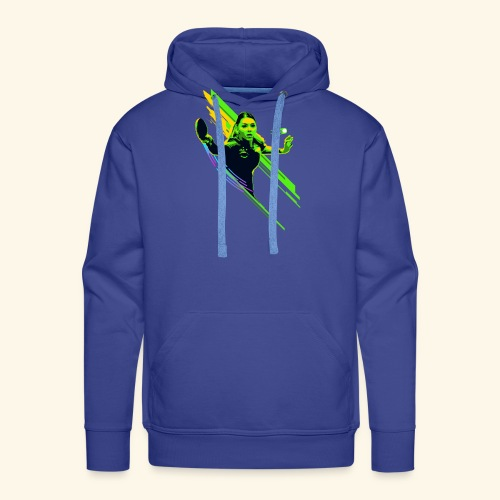 Eyes on the ball and focus playing the game - Männer Premium Hoodie