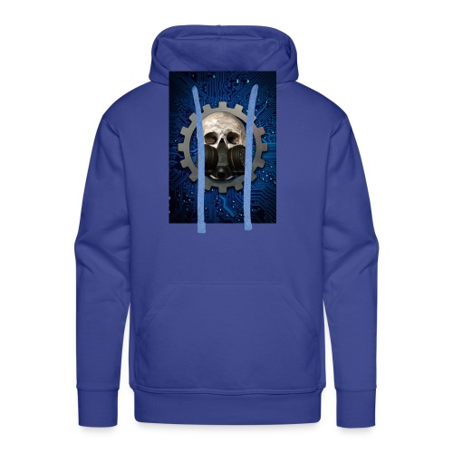 EBM - ELECTRONIC BODY MUSIC - ELECTRO HEAD - Men's Premium Hoodie
