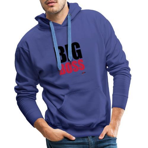 Big Boss - Sweat-shirt à capuche Premium pour hommes