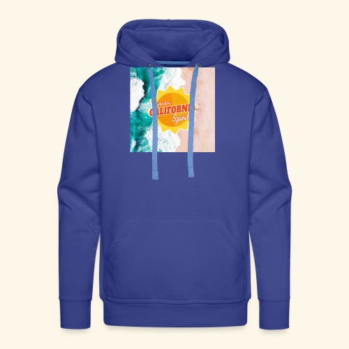 California Spirit Surfin - Sweat-shirt à capuche Premium pour hommes