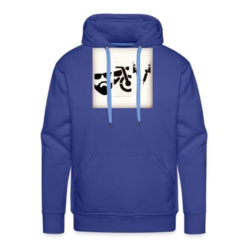 BB&T silhouettes - Men's Premium Hoodie