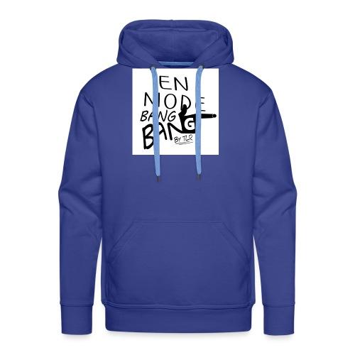 en mode bang bang - Sweat-shirt à capuche Premium pour hommes