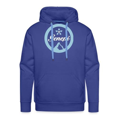 logo gh vectoriel - Sweat-shirt à capuche Premium pour hommes