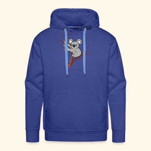 koala's tree - Sweat-shirt à capuche Premium pour hommes