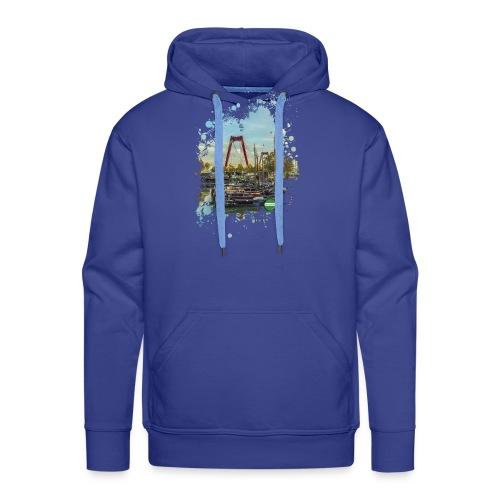 rotterdam splash oude haven 2mini fw - Mannen Premium hoodie