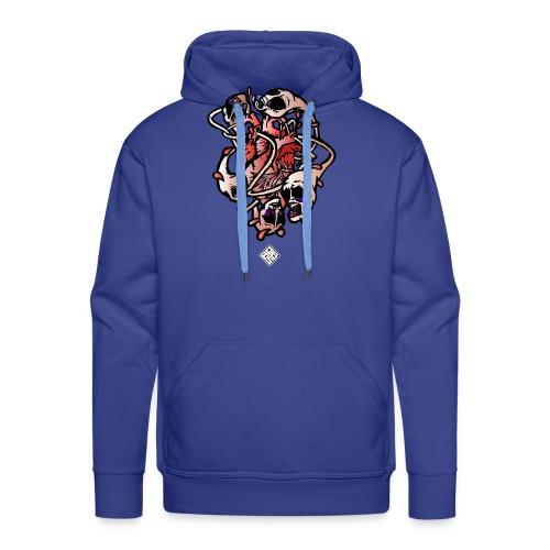 Heart-Parano - Sweat-shirt à capuche Premium pour hommes