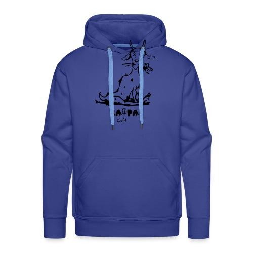 Chèvre kaopa - Sweat-shirt à capuche Premium pour hommes