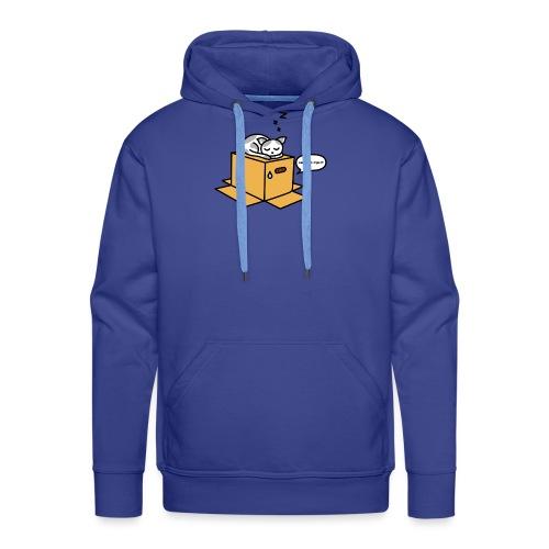 Metal gear cat - Sweat-shirt à capuche Premium pour hommes