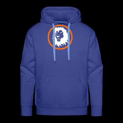 Absogames white lion unisex hoodie - Men's Premium Hoodie