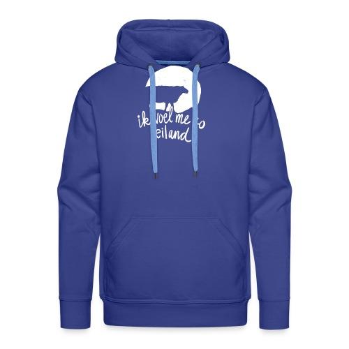 Ik voel me zo eiland - Mannen Premium hoodie