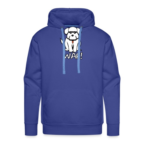 Puppy waf! - Sudadera con capucha premium para hombre