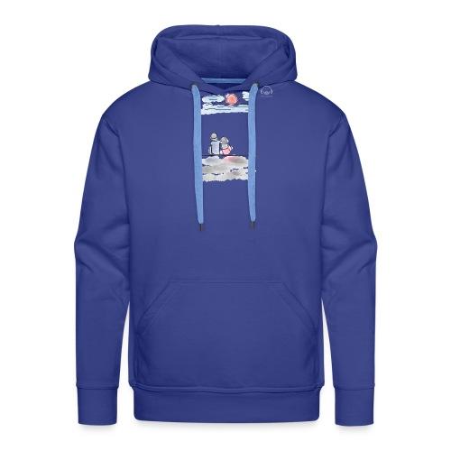 Lances Love - Sudadera con capucha premium para hombre