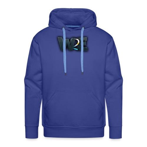 w2e 3d - Sweat-shirt à capuche Premium pour hommes