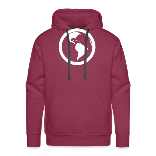 Earth - Felpa con cappuccio premium da uomo