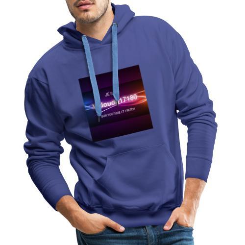 Valoudu17180twitch - Sweat-shirt à capuche Premium pour hommes
