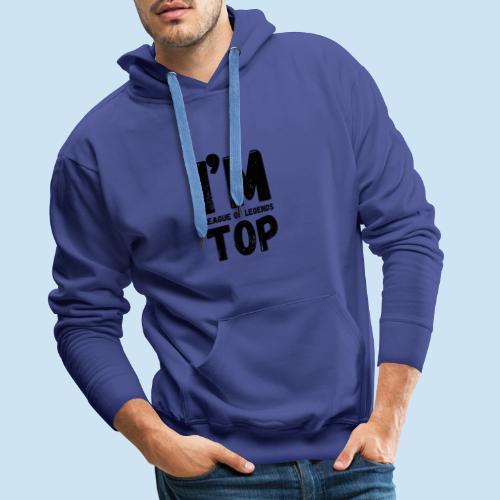 Lol Top laner - Premium hettegenser for menn