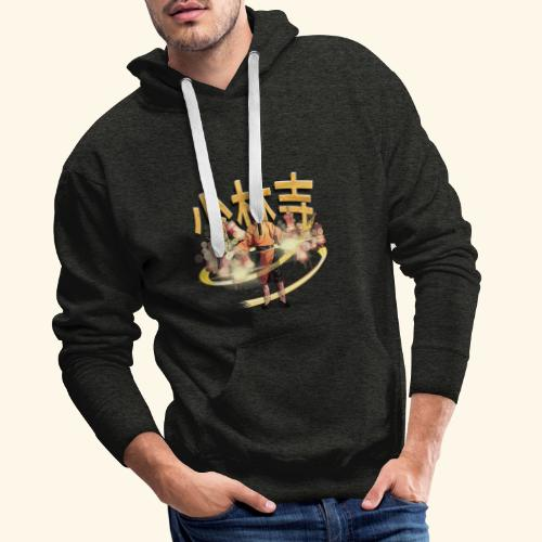 Gordon Liu as San Te - Warrior Monk - Mannen Premium hoodie