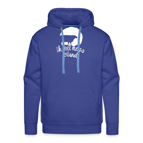 Eiland shirt - Mannen Premium hoodie
