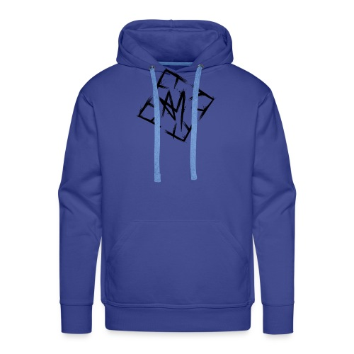 Across Yourself - Logo black transparent - Men's Premium Hoodie
