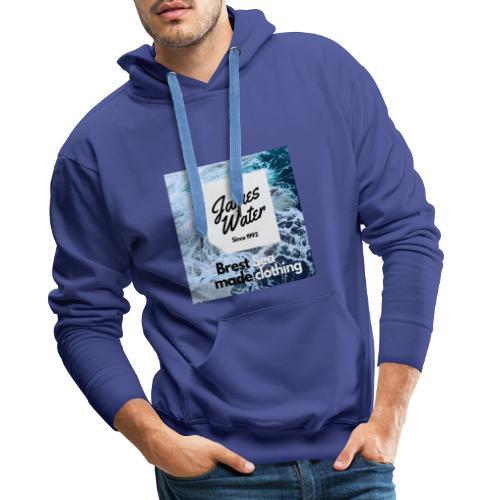 James Water Series I Exclusive - Sweat-shirt à capuche Premium pour hommes