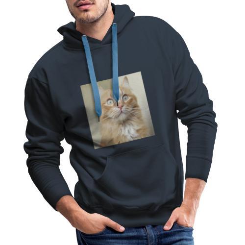 Gatto Ninni - Felpa con cappuccio premium da uomo