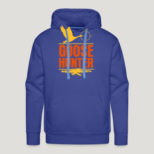 Jägershirt Gänse Jäger Goose Hunter Wildgans Jagd - Männer Premium Hoodie