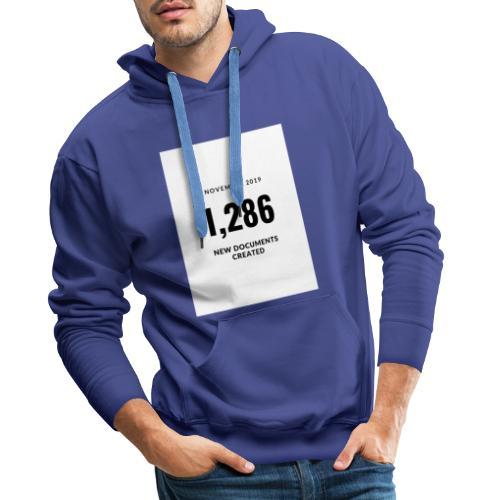 Blue Production Studio Logo - Sweat-shirt à capuche Premium pour hommes