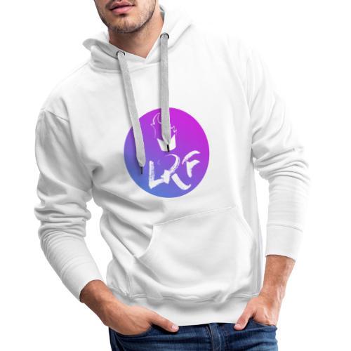 LRF rond - Sweat-shirt à capuche Premium pour hommes
