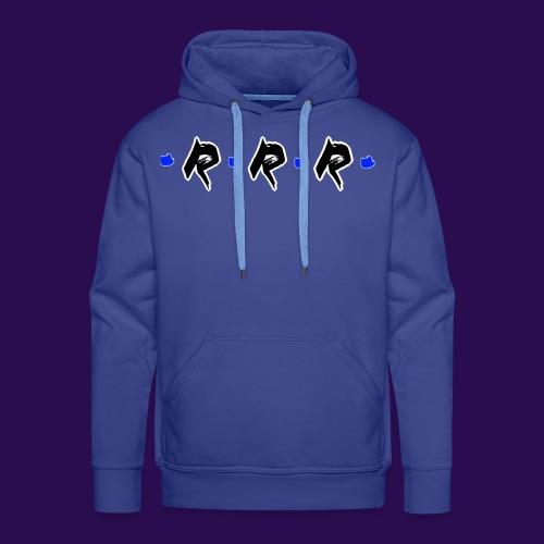 Blue Logo - Männer Premium Hoodie