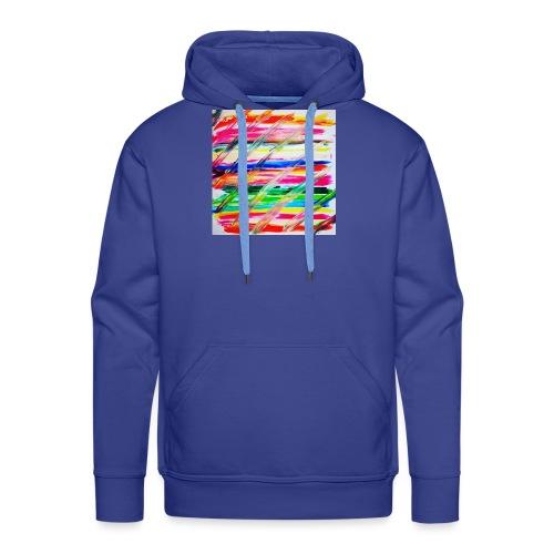 Rainbow Cross - Sweat-shirt à capuche Premium pour hommes