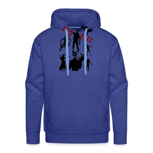 Zombies - Miesten premium-huppari