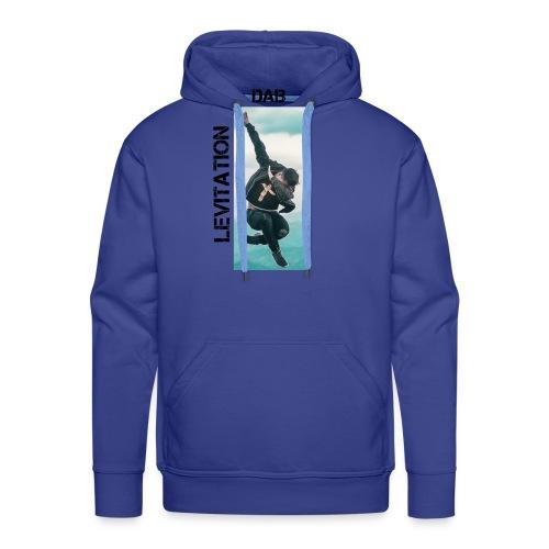 DAB levitation motif noirs - Sweat-shirt à capuche Premium pour hommes