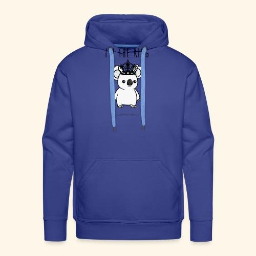 Koala king - Sweat-shirt à capuche Premium pour hommes