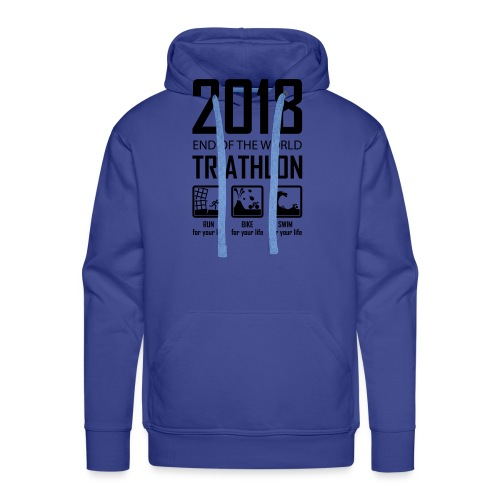 2018 End of the World Triathlon - Mannen Premium hoodie