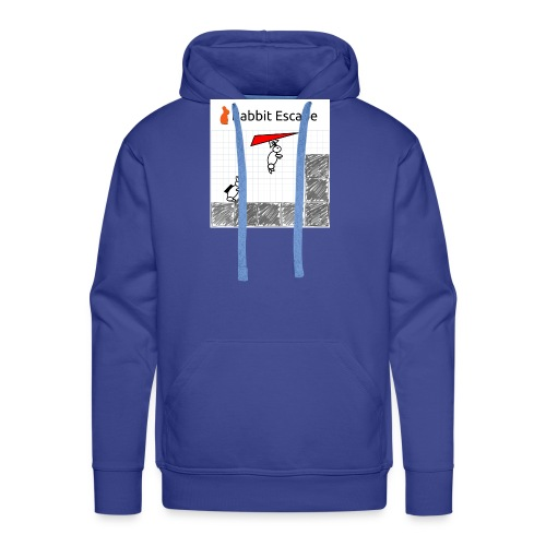 Rabbit Escape Hang-glider T-shirt - Men's Premium Hoodie