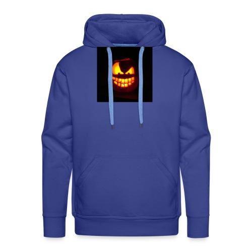 halloween jack - Felpa con cappuccio premium da uomo