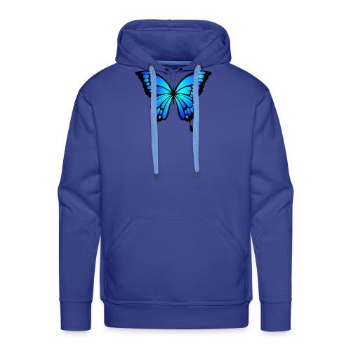 Mariposa - Sudadera con capucha premium para hombre