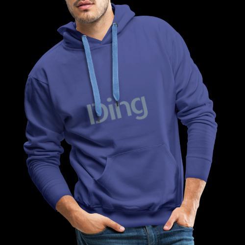 Ding - Männer Premium Hoodie
