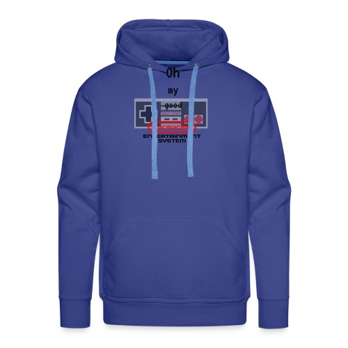 oh my good nes - Sweat-shirt à capuche Premium pour hommes