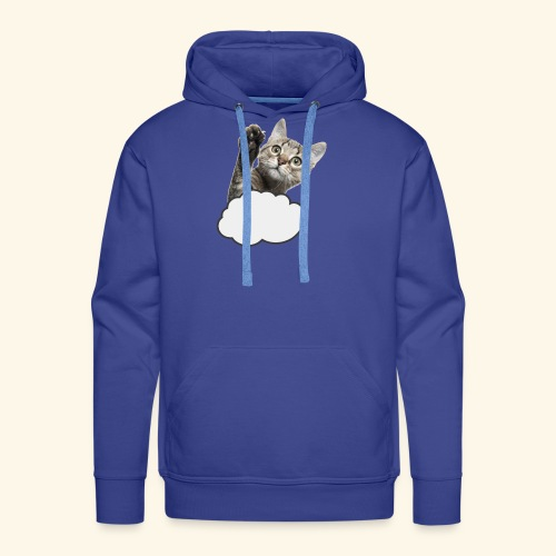 FLYING CAT - Männer Premium Hoodie