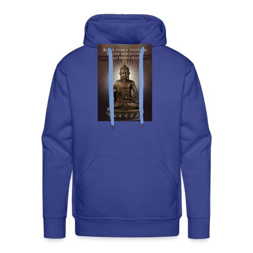 Buddha Wisdom - Men's Premium Hoodie