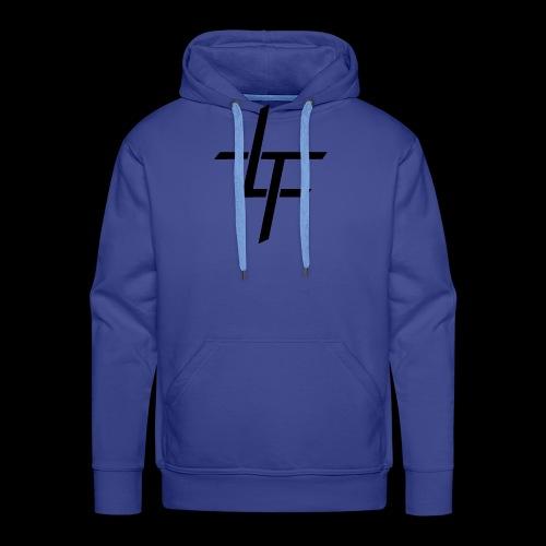 TL noir classique - Sweat-shirt à capuche Premium pour hommes