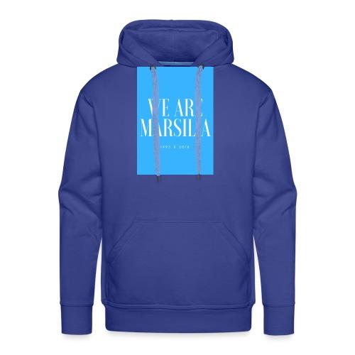 we are marsilia - Sweat-shirt à capuche Premium pour hommes