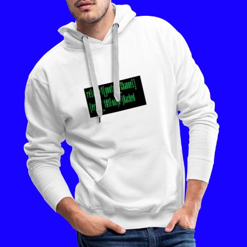 Reload youtube classic Crafttino21 merch - Männer Premium Hoodie