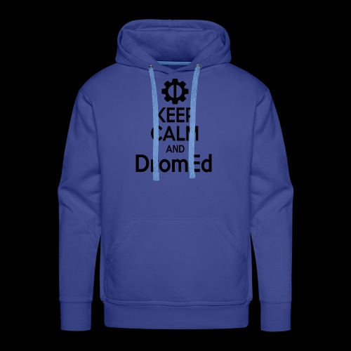 DromEd (Black Design) - Men's Premium Hoodie