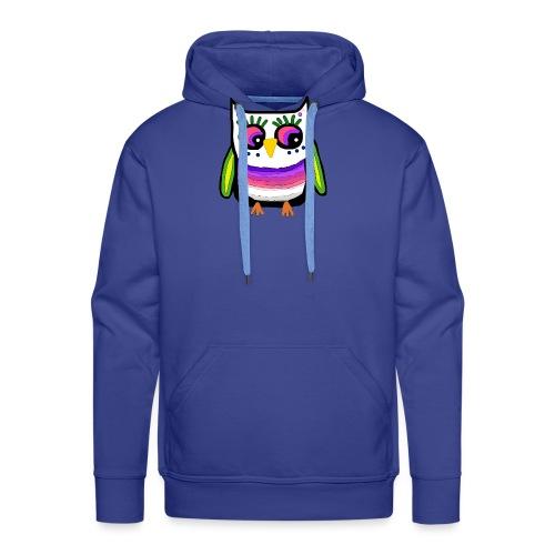 Colorful owl - Men's Premium Hoodie