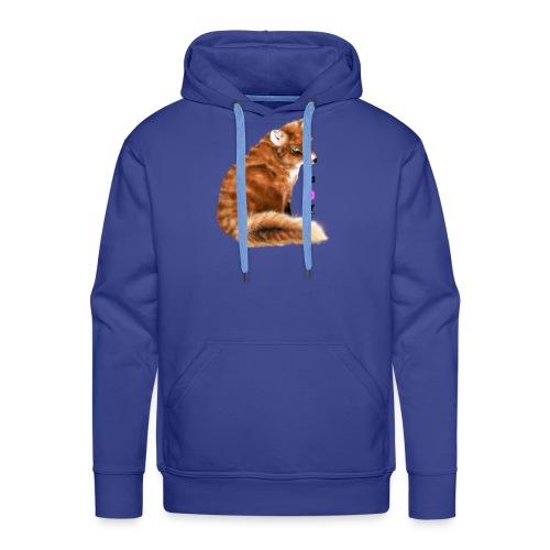 foxy 1 - Bluza męska Premium z kapturem