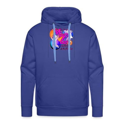 Composition1LogoMZ - Sweat-shirt à capuche Premium pour hommes
