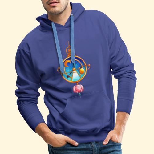 Montre Magique - Sweat-shirt à capuche Premium pour hommes