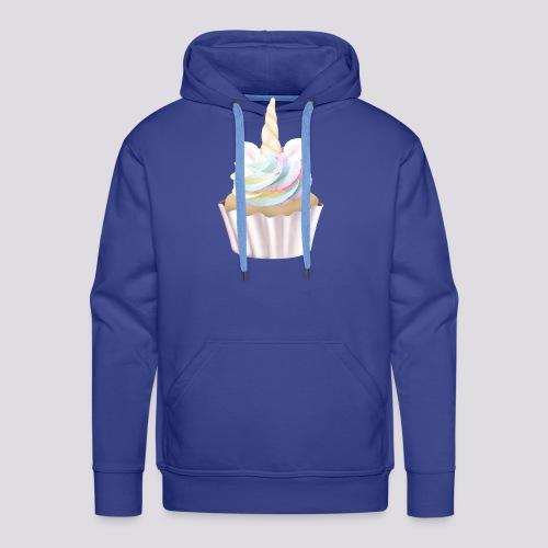 Unicorn Cupcake - Men's Premium Hoodie